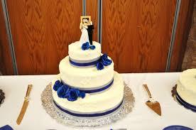 wedding cake royal blue cakejoy royal blue and silver wedding