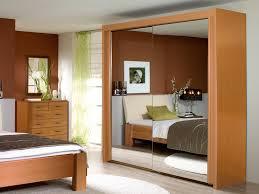 imperial beech 2 sliding mirrored door wardrobe