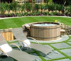 Small Backyard Design by Small Backyard Decks With Tubs Landscaping Gardening Ideas