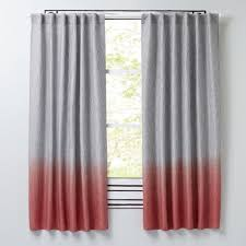 Pink And Orange Curtains Lofty Design Ideas Orange And Grey Curtains Half Dipped Pink The