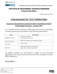 Application Letter For Need Based Scholarship Latest News