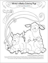 94 coloring pages sheep desert