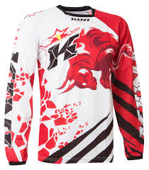 kini motocross gear kini red bull jersey revolution red white 2016 maciag offroad