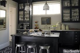 Black Cabinets Kitchen 10 Black Kitchen Cabinet Ideas Black Cabinetry And Cupboards