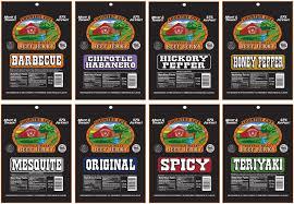 amazon com buffalo bills 12 piece beef jerky sampler black 6