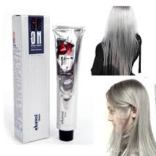 Wash Hair Before Color - 100ml hair color cream light grey color permanent super hair dye