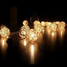 rattan ball fairy lights 10 led storm cream white rattan ball fairy string lights xma at rs