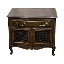 henredon four centuries oak nightstand chairish