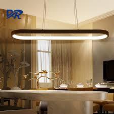 esszimmer len pendelleuchten minimalismus acryl aluminium moderne led pendelleuchten für