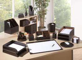 Modern Desk Tidy by Osco Faux Leather Desk Organizer Brown Amazon Co Uk Office