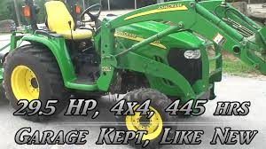 john deere 3120 utility tractor with 4wd hydro transmission and