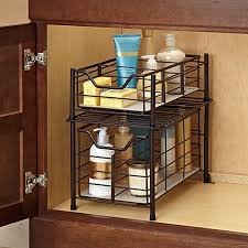 Bathroom Cabinet Organizer Magnificent Bathroom Cabinets Cabinet Organizer Built In On
