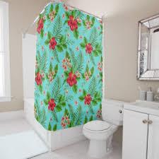 floral watercolor shower curtains zazzle