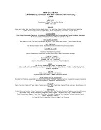 Mgm Buffet Las Vegas by Celebrate New Year U0027s Eve With Mgm Resorts International Restaurants
