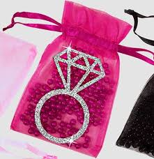 pink organza bags pink organza bags bachelorette favor bags the house of