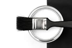black and white professional painter painting services
