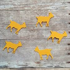 Barn Animal Party Supplies Amazon Com Goat Confetti Goat Decorations Animal Party Supplies