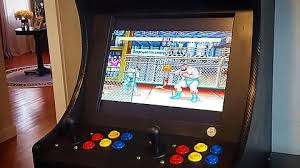 Bar Top Arcade Cabinet I Built A 2 Player Bartop Arcade Powered By Raspberry Pi Gaming