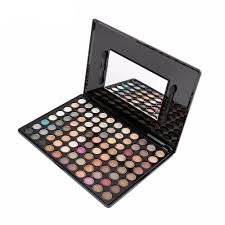 88 pro full color neutral warm eyeshadow palette limitless luxuries