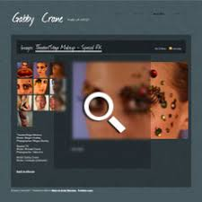 Makeup Artists Websites Examples Of Portfolio Websites Of Filmmakers Actors And Visual