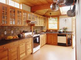 Small Kitchen Flooring Ideas Tile Floors With Dark Cabinets An Excellent Home Design
