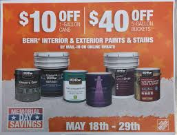 Home Depot 5 Gallon Interior Paint by Fredbehr Fred Behr Twitter