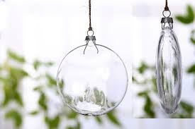 shop 130mm x 6 diy disc transparent glass balls