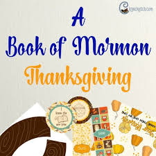 a book of mormon thanksgiving chicken scratch n sniff
