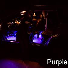 Colored Interior Car Lights Motors Light 12 Led Car Lights Interior Foot Mood Light With Phone