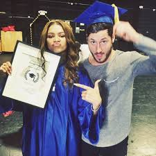 just graduated high school need a who zendaya graduates high school oh no they didn t