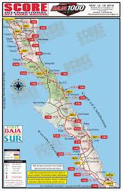 Race Map 2014 Baja 1000 Utv Time Map Race Dezert