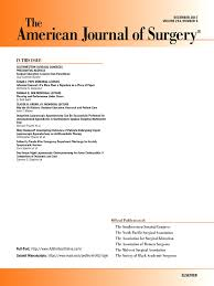 the american journal of surgery sciencedirect com