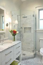 Bathroom Shower Makeovers Showers For Small Bathrooms Blatt Me