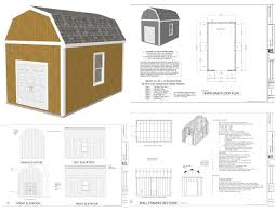 house barn plans floor plans 16 24 shed plans evolveyourimage