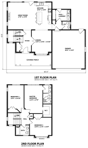 exellent 2 story house plans drawings 5 bedroom floor with o for