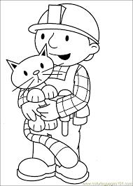 bob builder coloring 43 coloring free bob