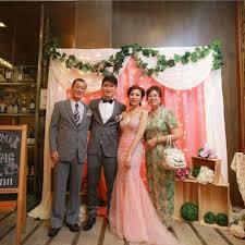 wedding backdrop kuala lumpur wedding photobooth actual day services