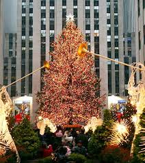 new york city s rockefeller center tree lighting jazz
