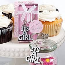 baby shower keychain favors it s a girl baby shower keychain favors baby