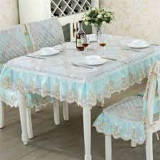 tablecloths and chair covers european luxury polyester rectangle dining tablecloths chair cover