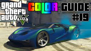 gta v ultimate color guide 19 vapid fmj best color