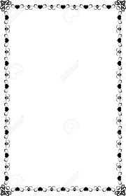 a4 size ornamental borders royalty free cliparts vectors and