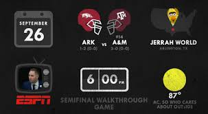 Texas A M Memes - the tailgate a graphical preview of texas a m vs arkansas good