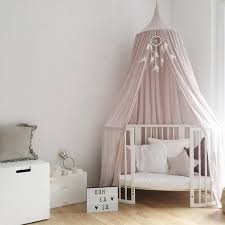 Girls Princess Canopy Bed by Round Mosquito Net Picture More Detailed Picture About Cotton