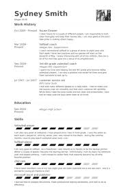 resume for cleaners commercial house cleaning resume sample entry