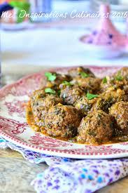 cuisiner boulette de viande tajine de boulettes viande hachée épinards recette boulette