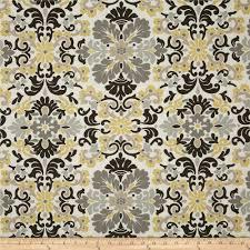 waverly folk damask lemondrop discount designer fabric fabric com