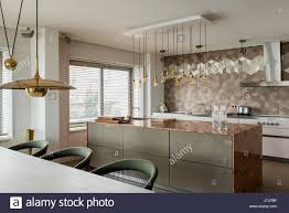 Kitchen Island Worktop by Marble Worktop Kitchen Island With Bulthaup Units And Brass