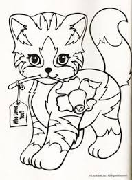 tabby cat coloring pages lisa frank coloring page coloring pages of epicness pinterest