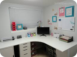 Corner Office Desk Ikea Craft Room Reveal Alex Drawer Drawer Unit And Drawers